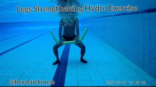 Legs Strengthening Hydro Exercises