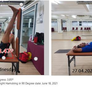 Hamstring Stretching