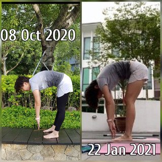 3 months Hamstring Stretch Program.