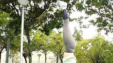 Headstand Training