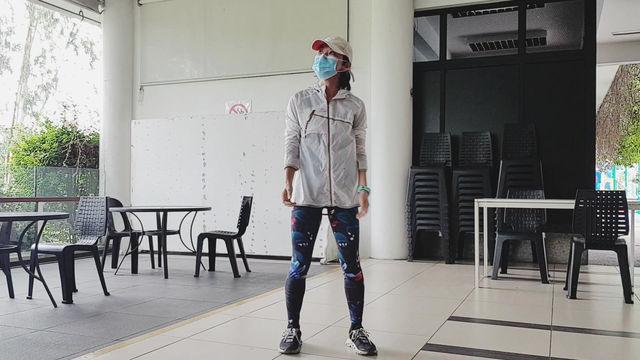 Aqua Fitness Choreography in September
