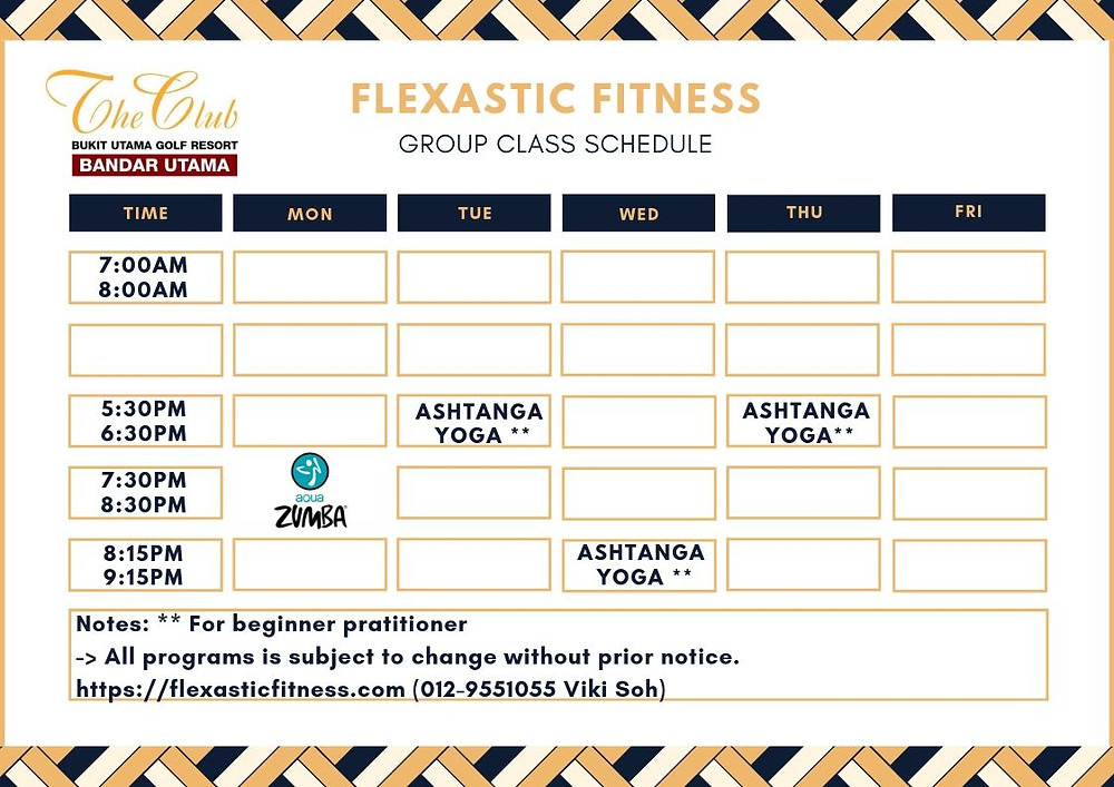 Group Class Schedule_28.05.2019