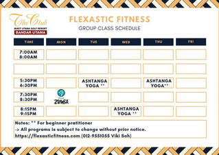 The Club@Bukit Utama Group Fitness Class