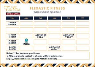 The Club@Bukit Utama Group Fitness Class
