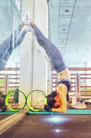 Upper Body Strength with Yoga Wheel