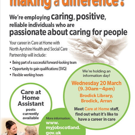 Care At Home Recruitment Event