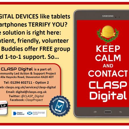 CLASP digital Buddies