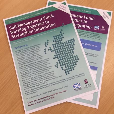 Self Management Fund: Working Together to Strengthen Integration