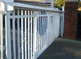 Estate gate entry system
