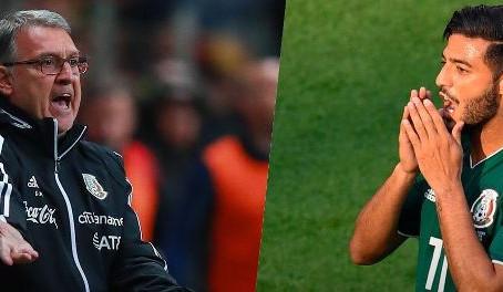 """Tata sobre Vela: """"Ilógico elegir a un futbolista que no está dispuesto a vestir la playera"""""""