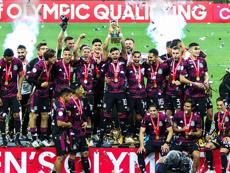 México vence a Honduras y es campeón del Preolímpico de la Concacaf