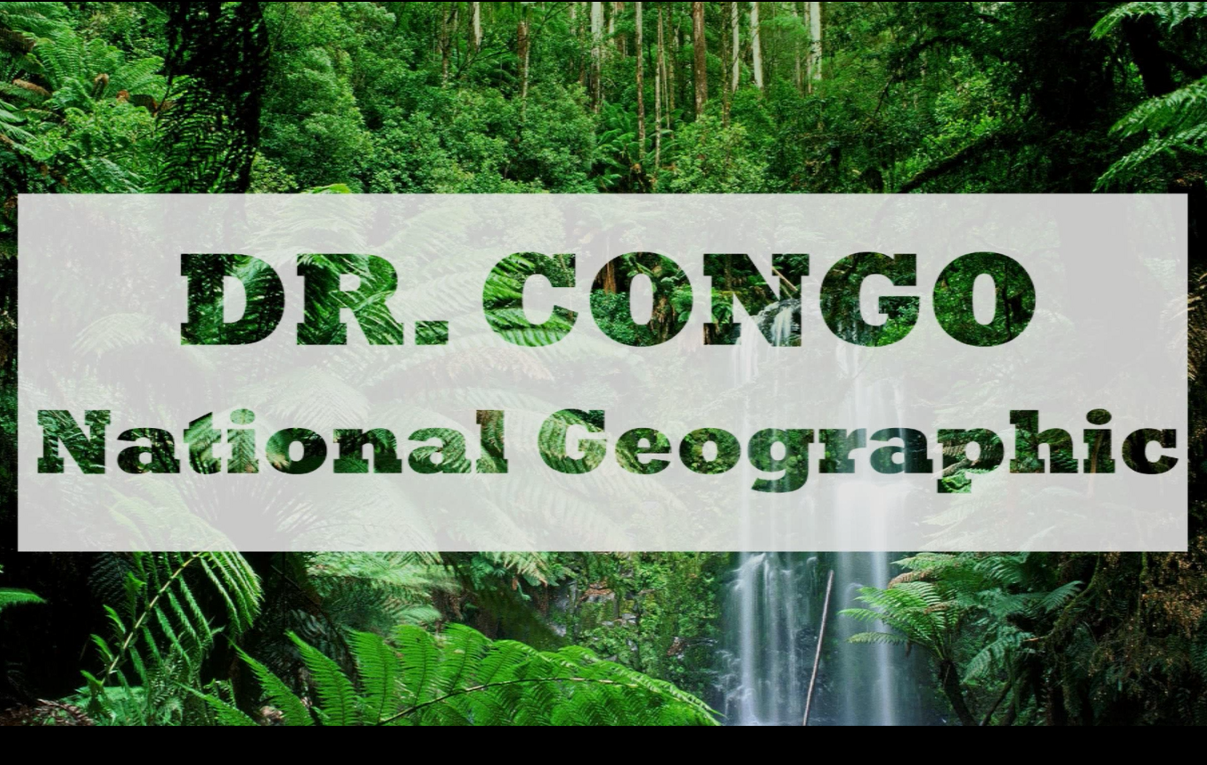 DR. Congo National Geographic