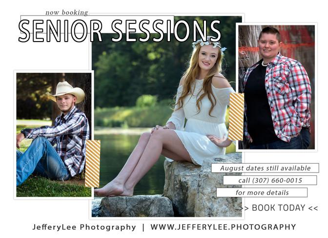 Senior Portrait Season is once again upon us!