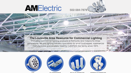 A-M Electric Launches New Website