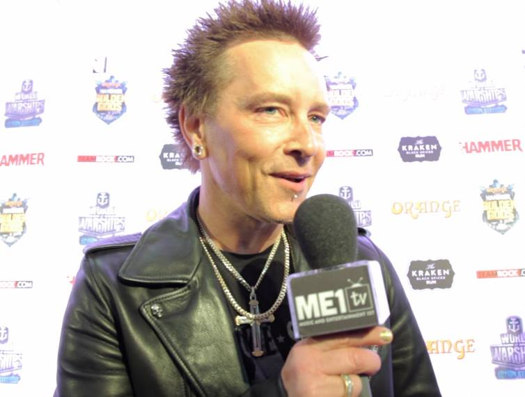 Billy Morrison - Billy Idol band
