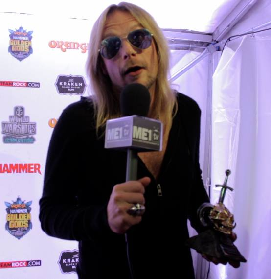 Richie Faulkner from Judas Priest
