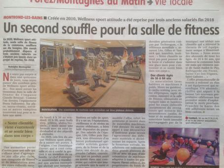Wellness passe dans le journal!