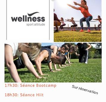 Sortie exterieur Bootcamp au parc de Montrond-Les-Bains avec Wellness sport attitude!