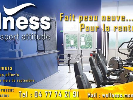 Offre promotionnelle de la rentrée dans votre club Wellness Sport Attitude à Montrond-les-bains!