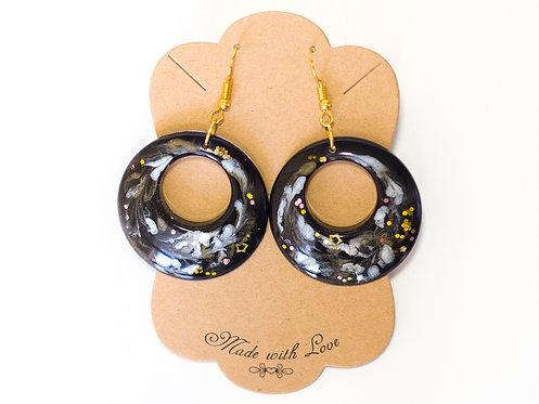 Handcrafted Earrings   Lightweight Earrings   Resin Earrings