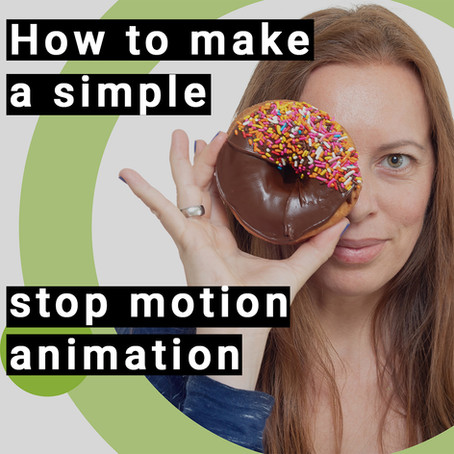 How to make a simple stop motion animation