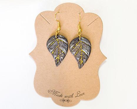 Leaf Shape Earring | Lightweight Earrings | Resin Earring | Handcrafted Earrings