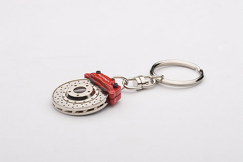 Racing Brake Disc Keychain Evolution