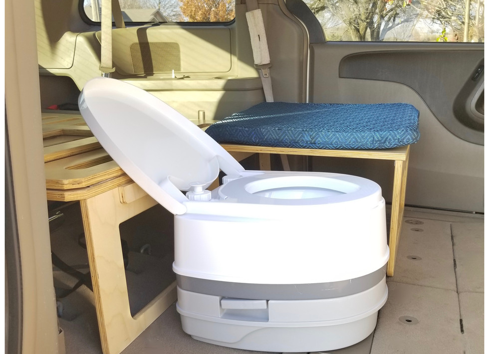 2.6 Gal Camco port-a-potty (not included