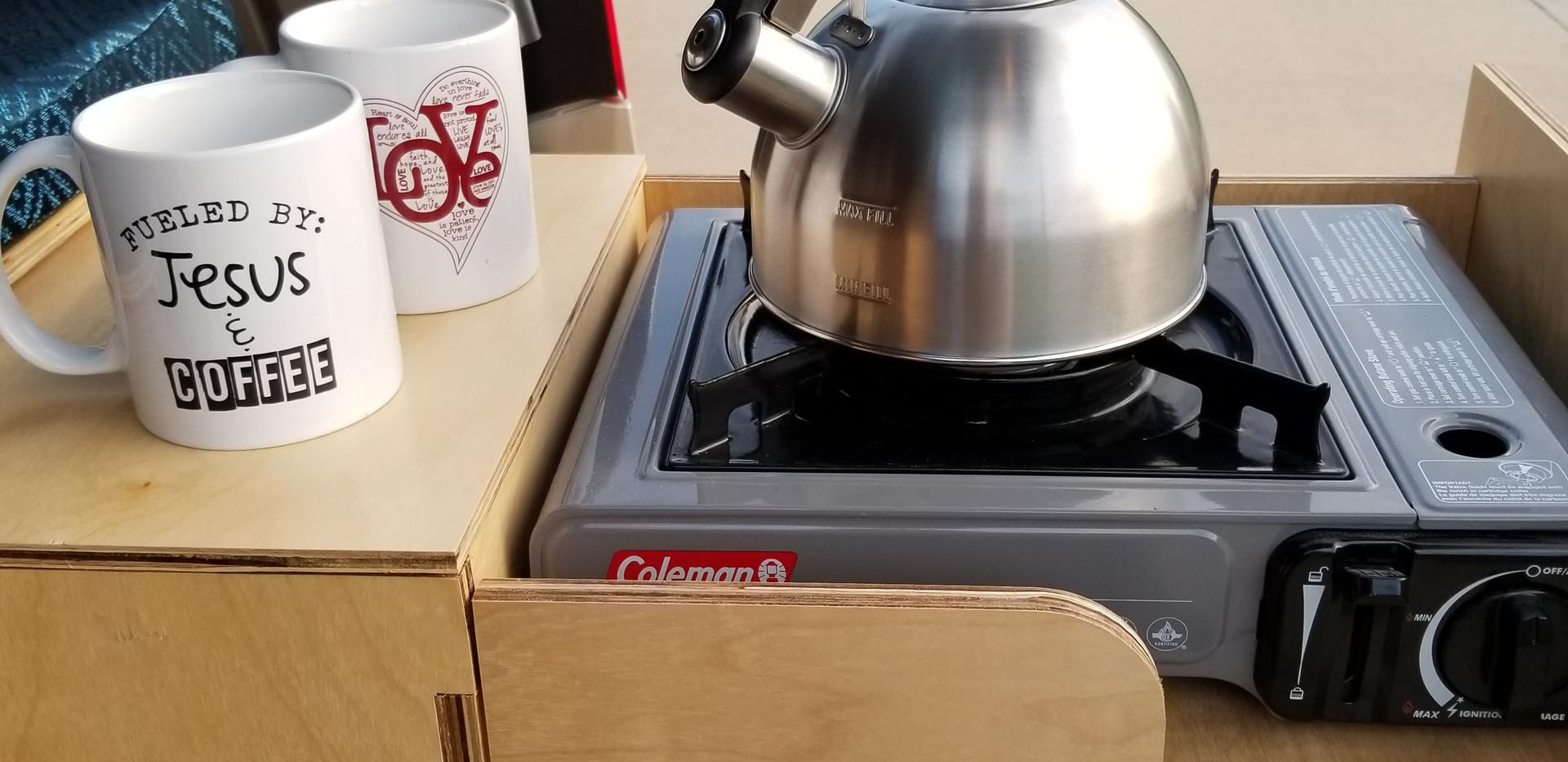 Hot coffee anywhere