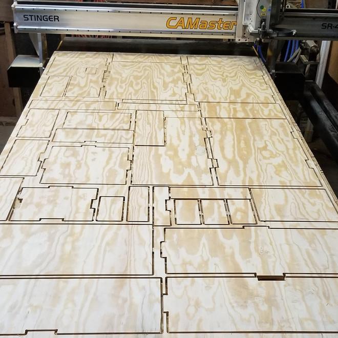 CNC precision cut