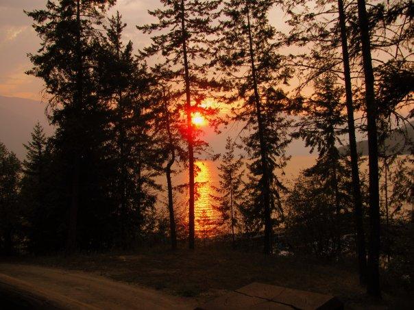 Facebook - Sunset Aug 3, 2009 Kootenay Lake