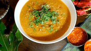 インド・スパイス豆カレー