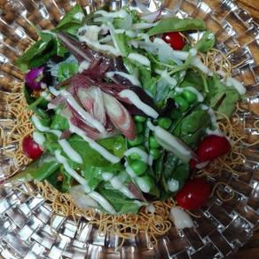 猛暑日の長崎サラダ