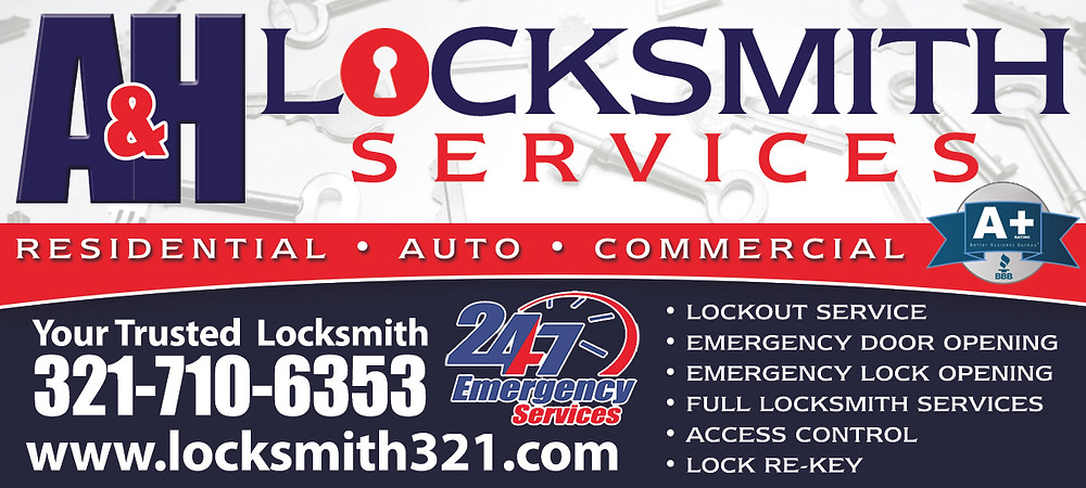 A & H Locksmith Services. Commercial, Residential and Automotive locksmith, Locksmith near me in Kissimmee FL