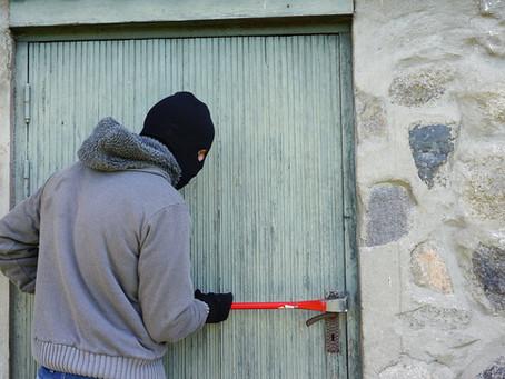 Home burglaries, a growing trend