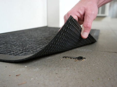 Hiding a Spare Key Under Your Doormat? It's the First Place Burglars Will Look!