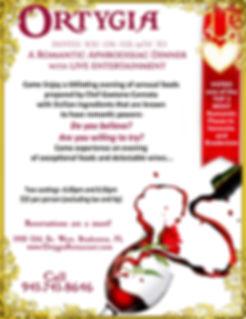 Visit Ortygia on Valentines Day