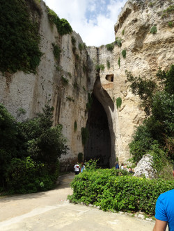 Sicily cave