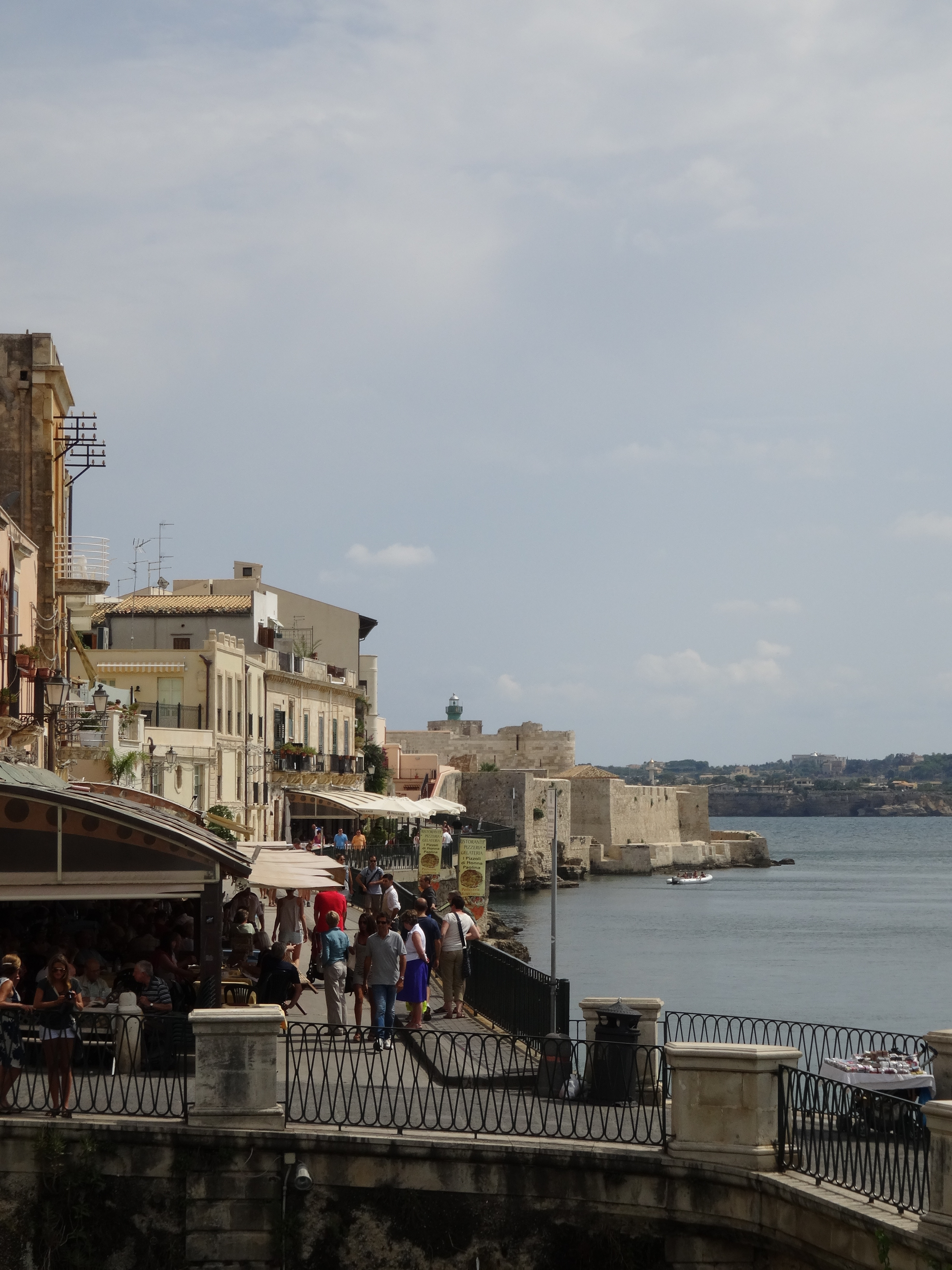 Eateries in Ortygia