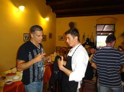 Food Tasting at Agritourismo