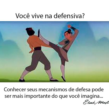 Você está sempre na defensiva?