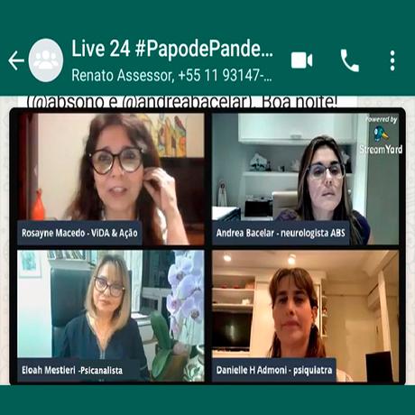 Live Papo de Pandemia