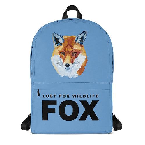 Fox Blue Backpack
