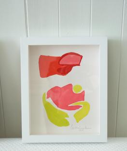 Flamingo Abstract No.8