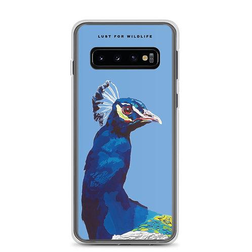Peacock Blue Samsung Case