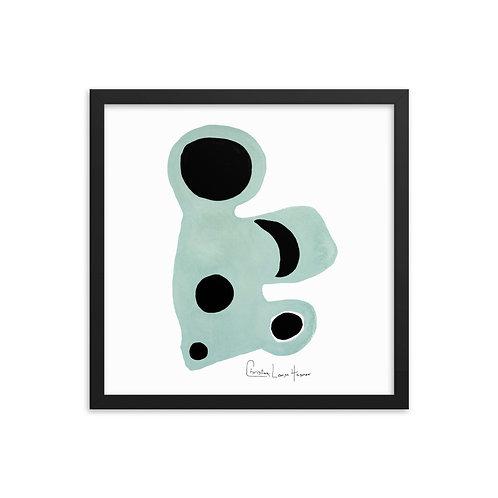 Tiger Abstract No. 9 Framed Print
