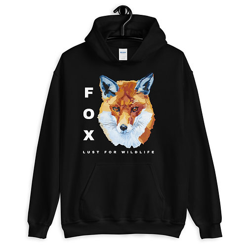 Fox Adult Unisex Hoodie