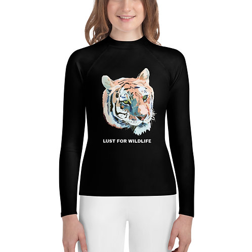 Tiger Youth Rash Guard