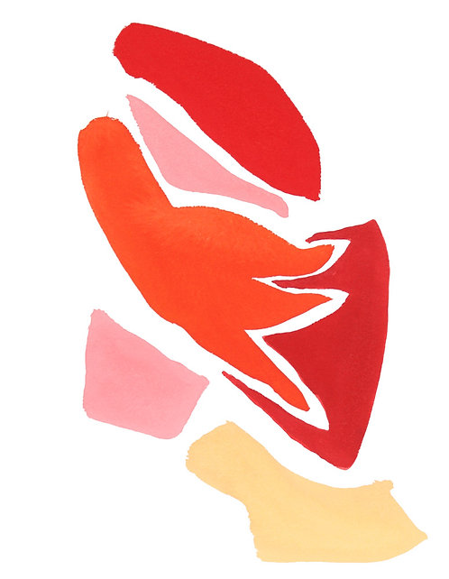 Flamingo Abstract No.5