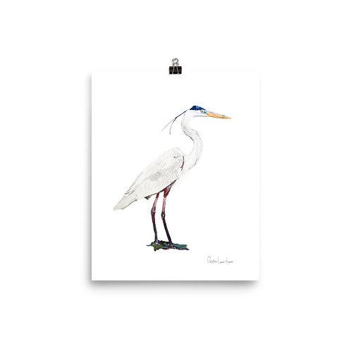 Heron No.6 Print